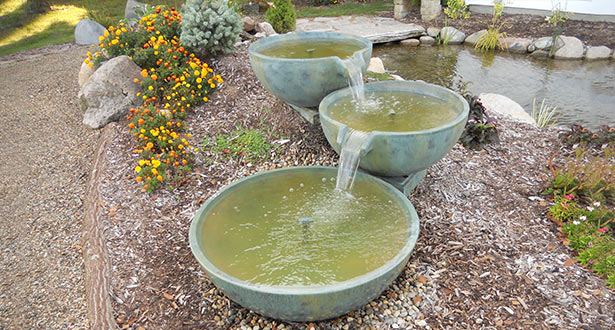 SPILLWAY BASIN AND TWO BOWL FOUNTAIN PACKAGE