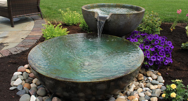 Basin and Bowl Fountain Package